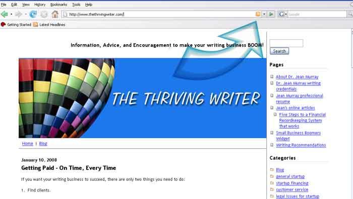 thriving writer