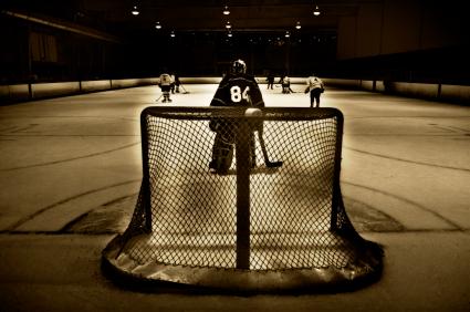 Hockey arena