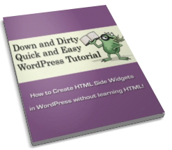 how to create sidebar widgets in wordpress