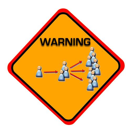social media in action warning