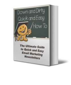 quick easy email marketing newsletters